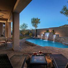Pool Designs Arizona arizona swimming pool free form style Contemporary Pool By Maracay Homes Design Studio