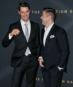 Matthew Goode & Allen Leech. Both played in The Imitation Game & Downton Abbey