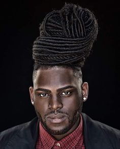 50 Creative Hairstyles for Black Men with Long Hair Black Men Haircuts, Black Men Hairstyles, Great Hairstyles, Creative Hairstyles, Hairstyles Haircuts, Weave Hairstyles, Dreadlock Hairstyles For Men, Dreadlock Styles, Dreads Styles