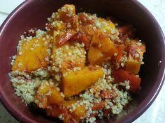 Harissa Butternut Squash with Quinoa