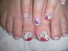 Manos y pies Nails Design, Toe Nails, Acrylic Nails, Tatoos, Nail Art, Beauty, Toenails, Nail Designs, Nail Bling