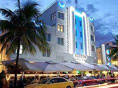 Art Deco Tour - The Beacon Hotel, South Beach Miami  (My Favorite Hotel!)