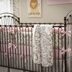 I would love a leopard nursery!!! So Cute!