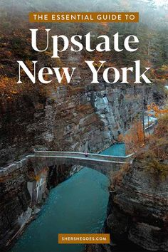 Here are 7 of the prettiest small towns in New York, as told by a local. All can easily be done in a weekend getaway or Upstate road trip and involve relaxation, outdoor adventures, great food and fun shopping. New York Trip, Cool Places To Visit, Places To Travel, Places To Go, Weekend Trips, Weekend Getaways, New York State Parks, New York Travel Guide, East Coast Travel