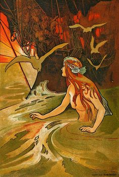 "Charles Robinson (1870–1937), ""The Mermaid"""