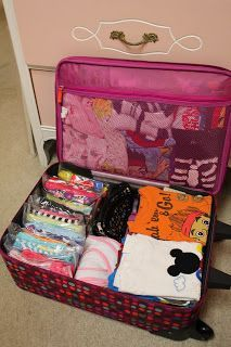 All Four Love: Starting to Pack for Disney! Many good tips including packing for kids.
