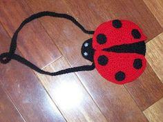 Little Girls Ladybug Purse Pattern ~ free pattern