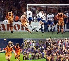 1992 European Champions Cup   final BARCELONA-SAMPDORIA