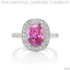Pink Sapphire Ring - J3161 $5500