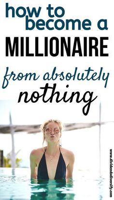 How To Become A Millionaire From Nothing – Dividends Diversify – Finance tips, saving money, budgeting planner Financial Tips, Financial Planning, Financial Peace, Millionaire Lifestyle, Money Tips, Money Saving Tips, Money Budget, Money Hacks, Budget Planer