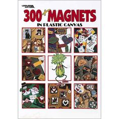There is a magnet included for every occasion and then some in 300+ Magnets In Plastic Canvas - Leisure Arts!