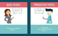 Difference No.12- Busy People V/S Productive People #productive #busy #people