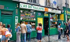 The Top 10 Foods You Have To Eat In Paris. L'as de fallafel