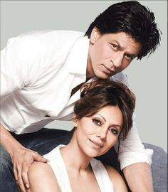 "Embedded image permalink-Shah Rukh and Gauri Khan have been voted as ""The Best Couple Who Enjoy Great Friendship."""