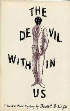 Edward Gorey's book cover / Devil within Us (1964)