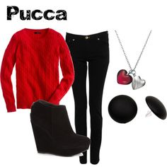 """""""Pucca from Pucca"""" by animeinspirations on Polyvore"""