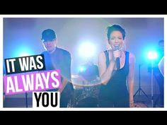 """It Was Always You"" Maroon 5 Cover - NikkiPhillippi & Gabi Ramirez"