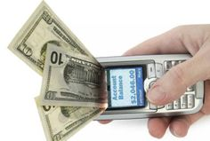 Mobile phones can be used for carrying out the following types of funds transfers (in addition to a whole host of other financial and banking functions):  1.Transferring money from one account to another, even internationally.  2.Transferring money to retailers, for payment of goods and/or services.  3.Transferring money to other mobiles.