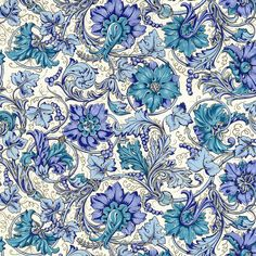 Rossi Italian Traditional Floral Paper