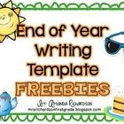 This product is a favorite! It is perfect for your end of year writing and I shared a fun and simple way to assess your students' writing on my blo...