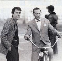 Tim Burton et Paul Reubens