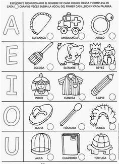 Montessori Activities, Preschool Activities, Spanish Lessons For Kids, Spanish Worksheets, Math Literacy, Free Preschool, Home Schooling, Kids Education, Kids Learning
