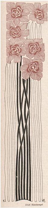 illustration for Jugend Magazine (1902) by Erich Kleinhempel (venusmilk)