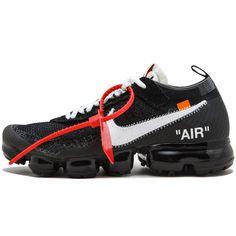 a0c677cee60 OFF WHITE  The Ten  Virgil Abloh Nike Air VaporMax Size 10 US Black