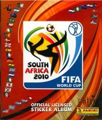 Panini World Cup 2010 South Africa Album Cover