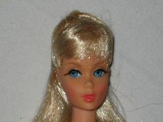 STUNNING, RARE, VINTAGE BARBIE DOLL w/LONG SILVERY BLOND HAIR