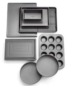 Calphalon Nonstick 10 Piece Bakeware Set - Bakeware - Kitchen - Macy's
