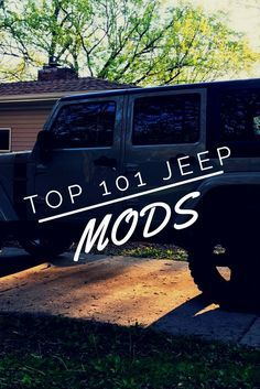 What are the best Jeep Wrangler parts and accessories ideas? Some are cool, some are funny, some are for offroad, and some are for street. From the popular to the unique all the Jeep mods you could ever want in one complete list! Jeep Wrangler Rubicon, Jeep Wrangler Parts, Jeep Jku, Jeep Parts, Jeep Wrangler Upgrades, Jeep Wrangler Interior, Jeep Wranger, Jeep Wrangler Girl, Jeep Wagoneer