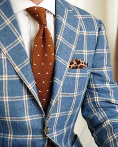 Great usage of patterns, stylish choice! ————————————————————————— #mensfashion #menswear #menstyle #suitandtie #tie #suit #suits #bespoke