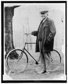 John D. Rockefeller with Old Bicycle Bike by InterestingPhotos, $5.95