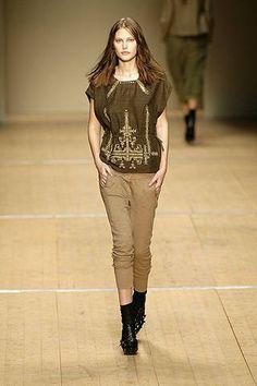 Isabel Marant Spring 2008 - ELLE.com