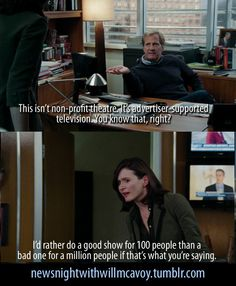 The Newsroom HBO credit:newsnightwithwillmcavoy tumblr