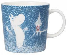 Moomin Winter mug 2018 – Light Snowfall - The Official Moomin Shop Moomin Shop, Moomin Mugs, Moomin Valley, Tove Jansson, Winter Light, Winter's Tale, Marimekko, Winter House, Cute Mugs