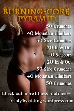 Core and Abs Pyramid