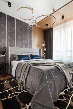 МЕТРАЖ: 56 м2  ДИЗАЙН: АЛЕКСАНДРА ГАРТКЕ Interior Design, Modern, Furniture, Home Decor, Bedrooms, Nest Design, Homemade Home Decor, Trendy Tree, Home Interior Design