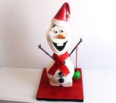 Olaf in Christmas Spirit