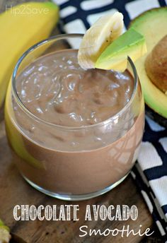 Chocolate Avocado Smoothie Recipe- not great, and makes a very small amount