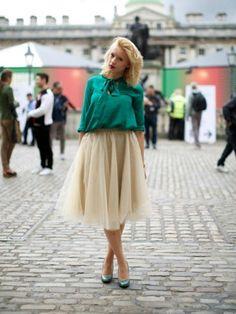 Fab #LFW street style snap x