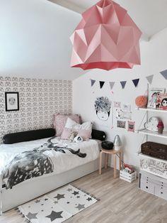 but that light fixture. E Room, Nursery Room, Baby Decor, Kids Decor, Girl Room, Girls Bedroom, Deco Kids, Kids Room Design, Fashion Room