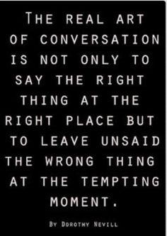 Tempting Conversation