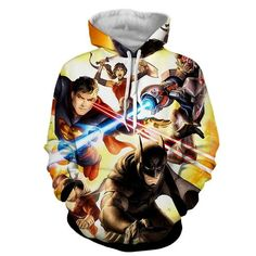 Justice League Super Power Heroes Cool Art Printing Hoodie    #JusticeLeague #SuperPower #Heroes #Cool #Art #Printing #Hoodie