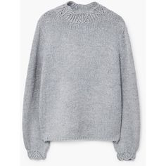 Openwork Detail Sweater (2.780 RUB) ❤ liked on Polyvore featuring tops, sweaters, turtleneck tops, mango tops, turtleneck knit top, turtle neck sweater and knit turtleneck sweater