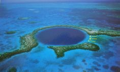 "underwater caves ""blue holes"" in the Bahamas"