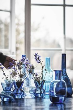 ikea stockholm collection hand-blown glass