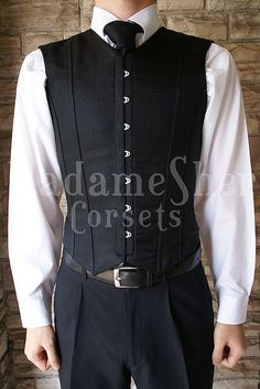 This is my favorite man's corset ever.