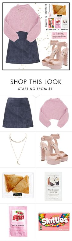 """Don't give up on me, baby"" by magiehale ❤ liked on Polyvore featuring Burberry, Lala Berlin, Wet Seal, Miu Miu, H&M, MAK, River Island and Maybelline"